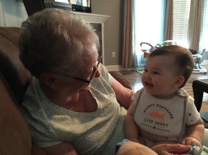 10 months old - taken June 14, 2015